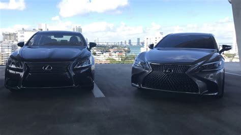 new lexus ls 2017 exclusive 2017 lexus ls 460 vs all new 2018 lexus ls 500