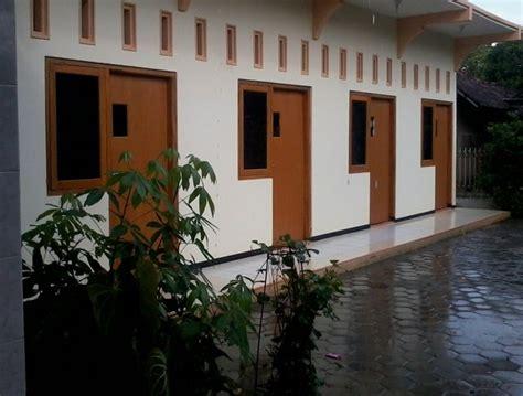 Rumah Bangunan Kos Kosan 10 Kamar contoh gambar desain rumah kost minimalis 1 2 lantai