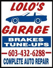 Lolos Garage by S Auto Repair Derry Nh 03038 603 434 6288 Auto