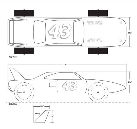 pinewood derby template 1207 best pinewood derby cars images on
