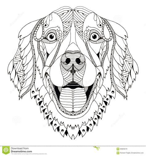 dog mandala coloring page adult coloring pages shells printable google search