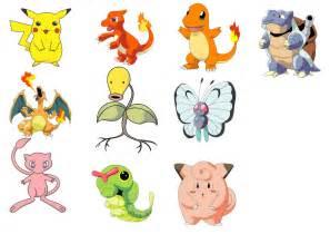 pokemon characters cartoonbros