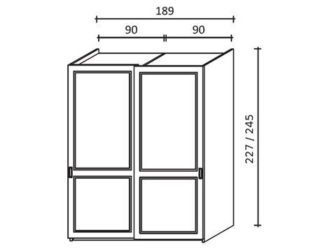 armadio 2 ante scorrevoli misure armadio a due ante scorrevoli in legno