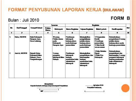 format laporan tahunan organisasi contoh laporan harian downlllll