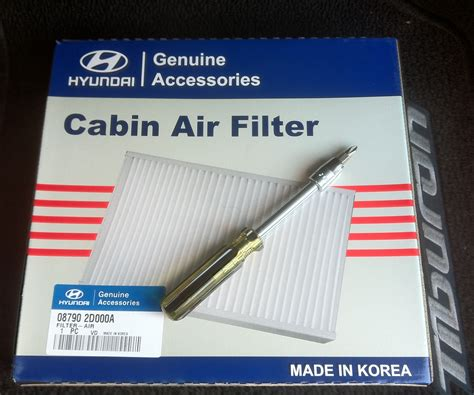 How To Replace A Cabin Air Filter by How To Replace The Cabin Air Filter On The Hyundai Tiburon