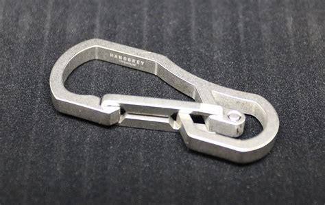 carabiner titanium handgrey titanium keyring and h3 titanium carabiner