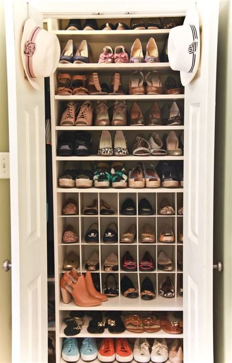 shoe closet with doors interior entranching closet organizer ideas for small