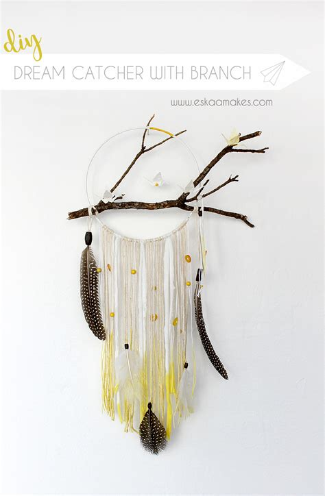How To Make A Paper Dreamcatcher - how to make dreamcatcher with branch and origami cranes