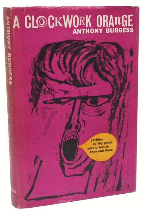 a clockwork orange burgess tribute edition books a clockwork orange by anthony burgess heinemann hardcover
