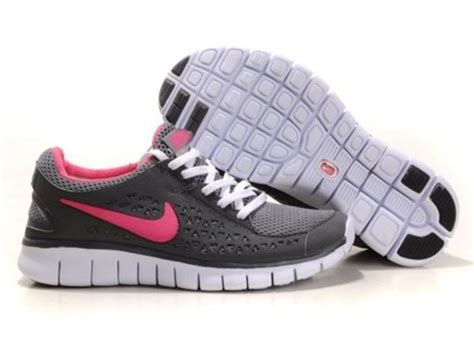 shoes nike free run pink grey white nike nike shoes