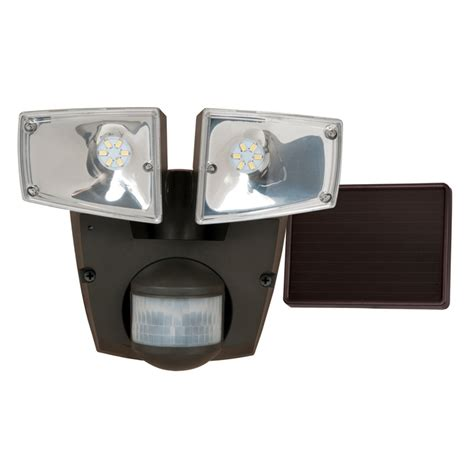 solar powered motion activated flood lights shop utilitech pro 180 degree 2 black solar powered