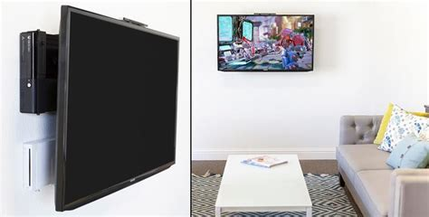 ways to mount a tv 10 cool ways to hang that flat screen you finally saved up for wall mount cable and flats