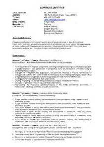 Resume Templates For Experienced Banking Professionals Resume For Experienced Professionals Sle Bongdaao