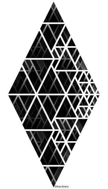 geometric pattern inspiration penrose triangle inspiration