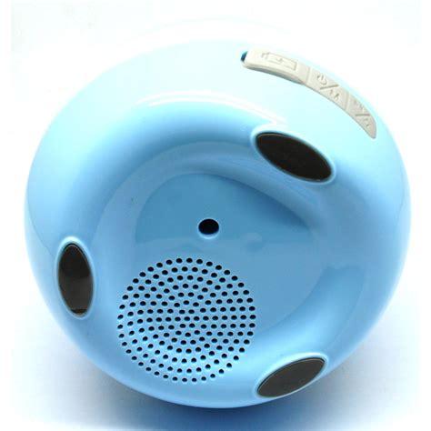 Speaker Bluetooth Motif Bunga flower pot vas bunga dengan speaker bluetooth blue