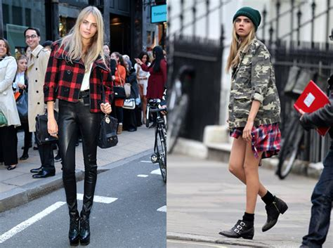 glam twins blog trend report check street style vs glam inside patrizia