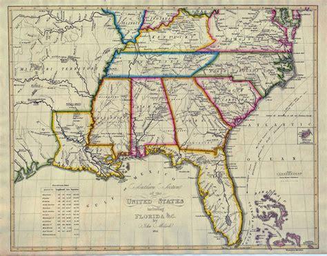 atlanta map of usa 1824southernus southern atlanta
