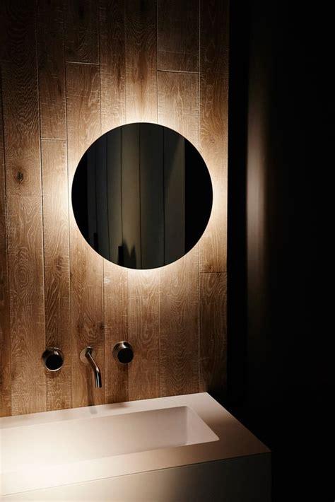 mesmerizing backlit mirror designs   modern bathroom