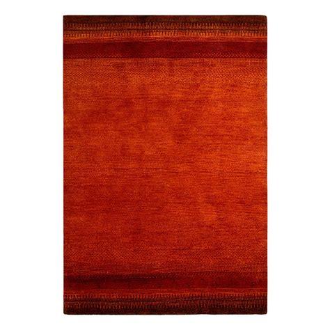 teppiche 70 x 140 cm teppich indo gabbeh vizianagaram rot 70 x 140 cm