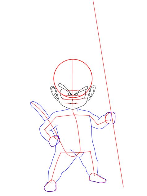 cara menggambar goku kecil kid goku 9komik tips dan cara menggambar