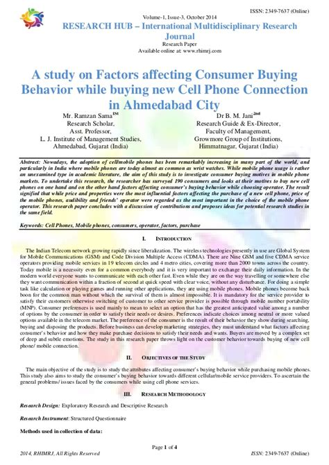 research paper on consumer buying behaviour research paper consumer buying behaviour
