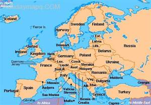 Croatia Map Europe by Map Of Europe Croatia Map Holiday Travel Holidaymapq Com