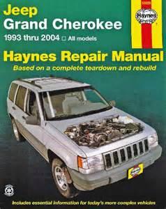 jeep grand haynes service repair manual 1993 2004