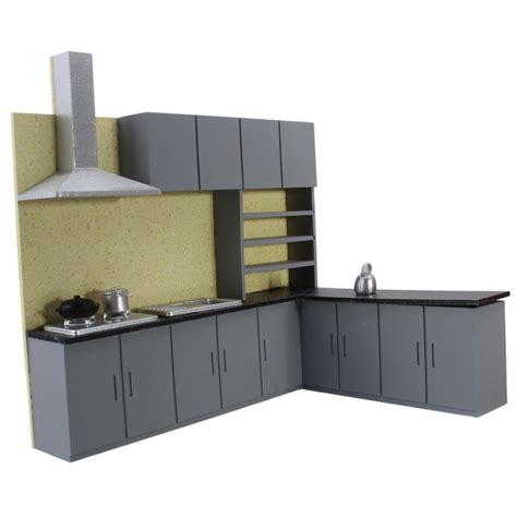 kitchen cabinet set kiwarm cute 1 25 dollhouse miniature furniture kitchen