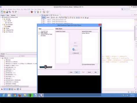 tutorial bootstrap netbeans netbeans primefaces crud generator tutorial doovi