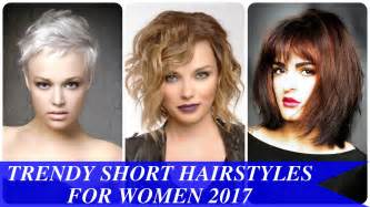 Trendy short hairstyles for women 2017 new hairstyles for women