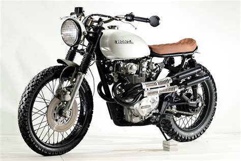 honda cb 450 honda cb450 scrambler by steel bent customs bikebound