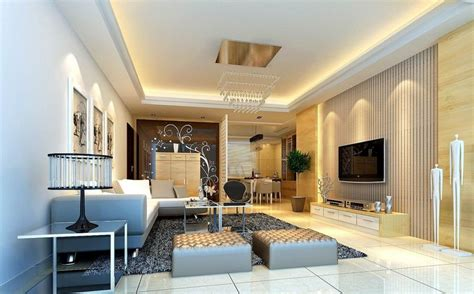 raised ceiling modern family room designs beautiful modern family room