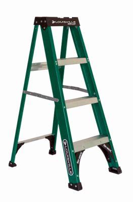 Louisville Ladder Fiberglass Type Ii Duty Step Ladder 4ft