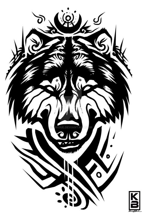 tribal bear by anioue on deviantart
