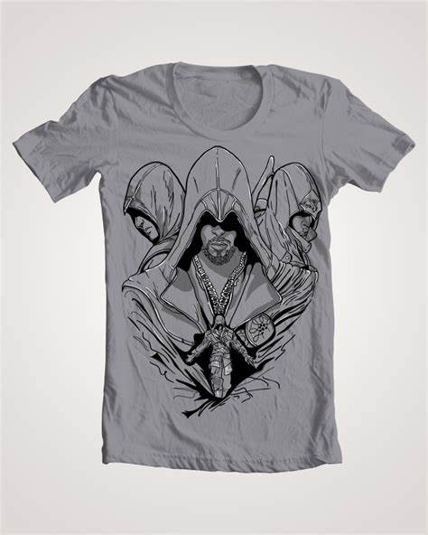 Tshirt Assassins Creed assassin s creed t shirt design by beautymind on deviantart