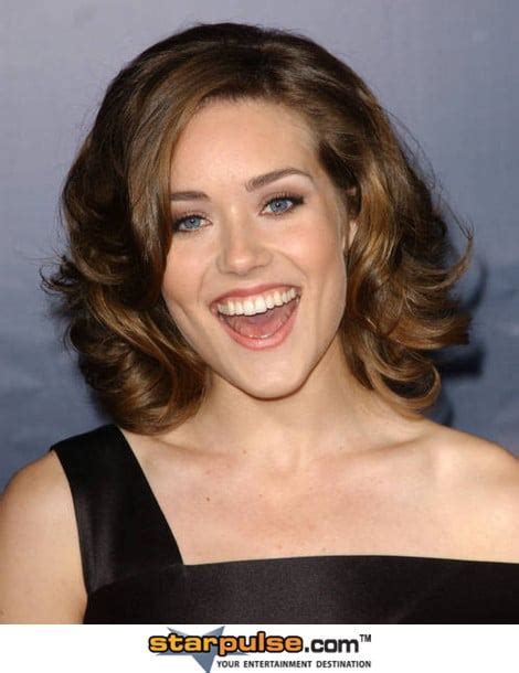 meagan boone ponytail picture of megan boone
