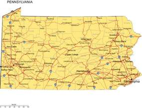 Map Of Pennsylvania Cities And Towns by Cities And Counties In Pennsylvania Pictures To Pin On