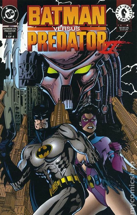 Batman vs. Predator II Bloodmatch (1994) comic books