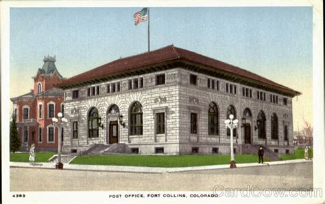 Fort Post Office by Post Office Fort Collins Co