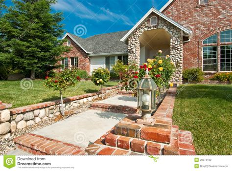 inviting home inviting home view 3 stock photography image 20374162