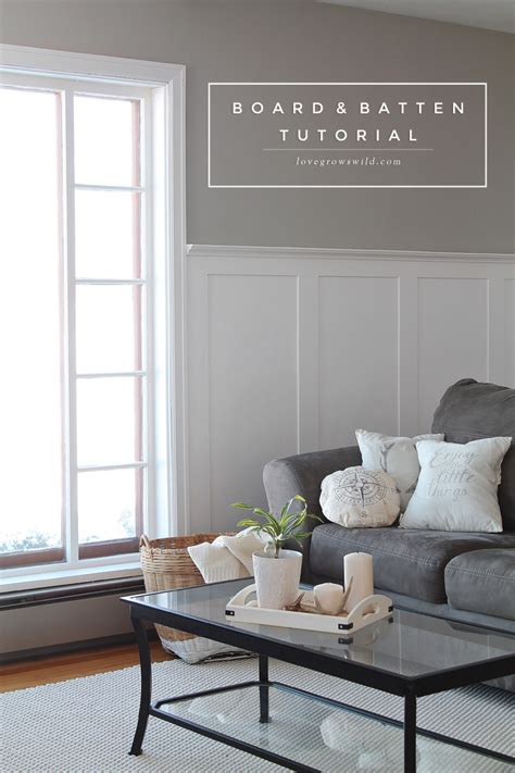 living room gallery wall love grows wild board and batten tutorial love grows wild
