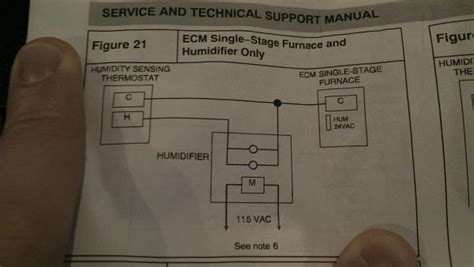aprilaire  auto install  comfortmaker furnace
