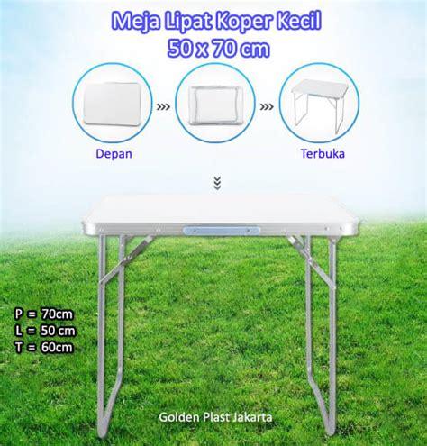Meja Lipat Jualan jual meja lipat alumunium kecil portable murah