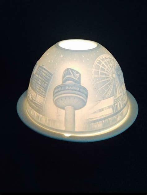 Liverpool Skyline Ceramic Tea Light Holder Liverpool Liverpool Lights