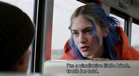 blue subtitle blue hair eternal of the spotless mind image