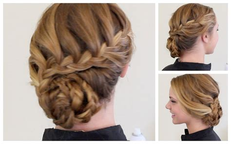 women over 40 braid work hairstyles 40 hairstyles for prom night with braids and curls