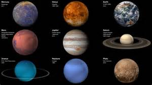 what color is mercury the planet hyperwall our solar system