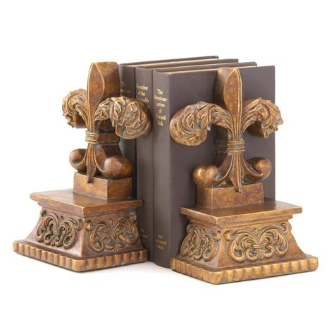 Cheap Fleur De Lis Home Decor | fleur de lis bookends wholesale at koehler home decor