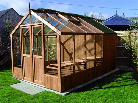 swallow raven  greenhouse ft shed combination