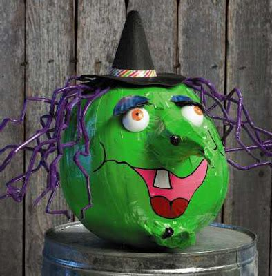 everyday life at leisure stick or treat duct tape halloween pumpkins